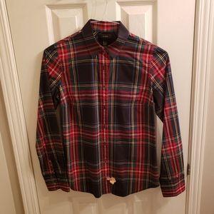 JCrew Perfect Fit Shirt Size 4
